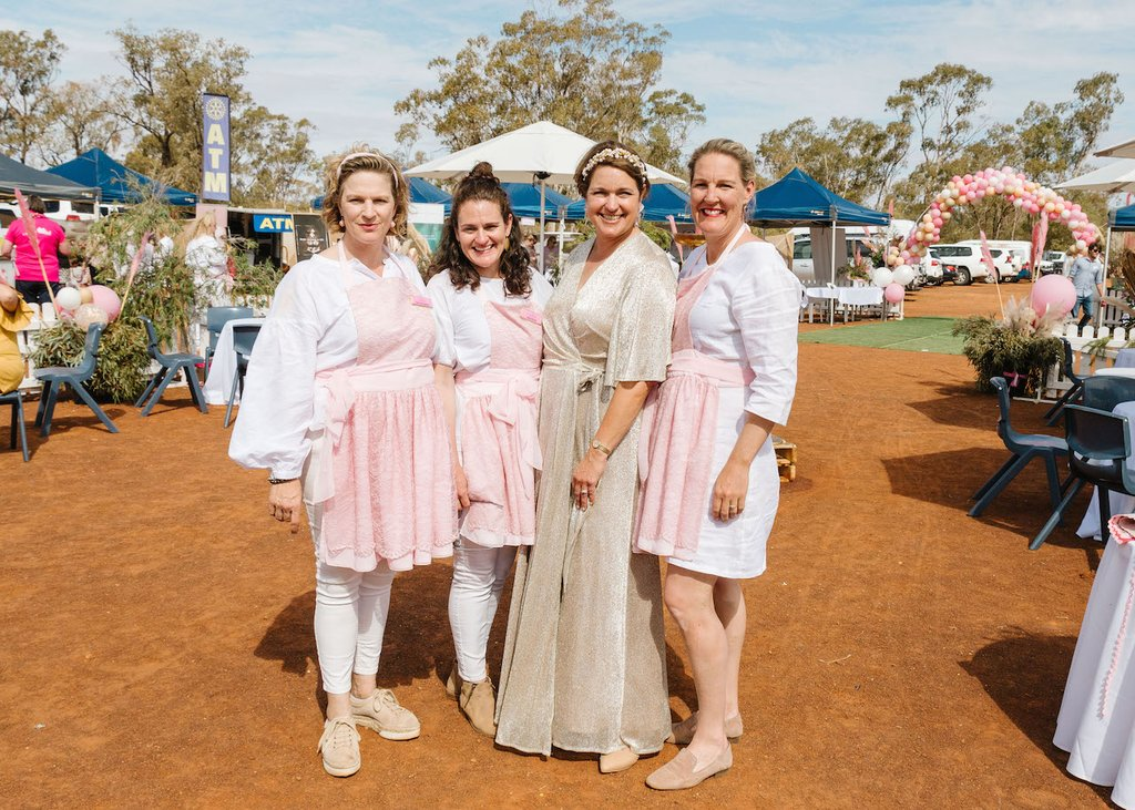 The Bush Farewells Iconic Weengallon Pink Ladies Day